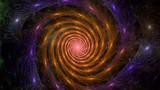 abstrakcyjna spirala sceny kosmicznej kolorowe