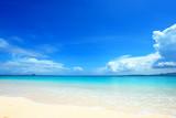 Piękna plaża Okinawa