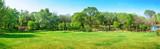 Park wczesną wiosną. Znajduje się w Shenyang Botanical Garden, Shenyang, Liaoning, Chiny.