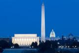 Zabytki Waszyngtonu, Lincoln, Waszyngton i Capitol Building