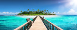 Tropical Destination - Malediwy - Pier For Paradise Island