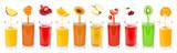 Zbiór świeżych soków