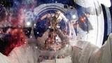 Astronauta w kosmosie. Elementy tego obrazu dostarczone przez NASA.