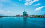 Widok na Lagoon, Victoria Island, Lagos