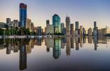 Widok Brisbane nad rzeką, Australia