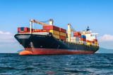 Logistyka i transport międzynarodowego kontenerowego statku towarowego