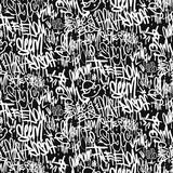 Wektorowi graffiti etykietki bezszwowy wzór, druku projekt.