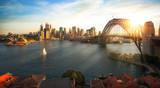 Sydney schronienie i most w Sydney mieście