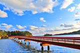 秋空と松島