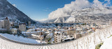 city of Chur in the Swiss Alps in winter