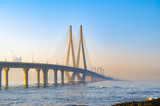 beautiful sea link bridge of Mumbai