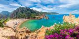 Costa Paradiso landscape, with wild Spiaggia di Li Cossi, Sardinia