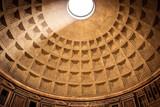 The dome of the Pantheon in Rome, in Piazza della Rotonda
