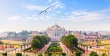 Swaminarayan Akshardham complex in Dehli, India, full view