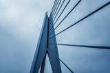 Part of urban building bridge structure..