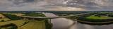 view of the motorway bridge Rendsburg A7