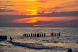 Red sea sunset