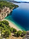 Piękna plaża w chorwacij