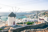 widok na greckie miasto