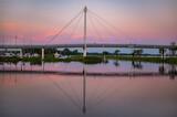 Most w portcie w Giżycku